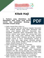 Kitab Haji