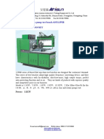 Diesel fuel injection pump test bench ANS12PSB