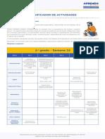 Matematic2 Semana 22 Planificador Ccesa007
