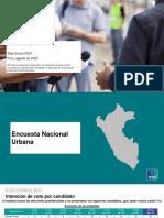 IPSOS Elecciones 2021 Ago2020