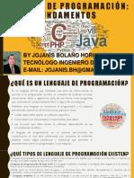 LENGUAJE DE PROGRAMACION - UNIDAD-01-FUNDAMENTOS