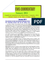 PDC News Commentary - January 2011 (Eng)