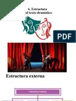6. Estructura del texto dramático