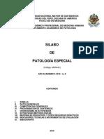 MH0441 Patologia Especial 2010