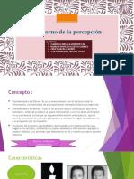 Transtorno de la Percepcion II -1.pptx