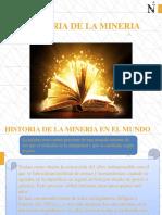 B.- HISTORIA DE LA MINERÍA
