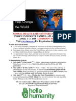Global Humanitarian Flyer