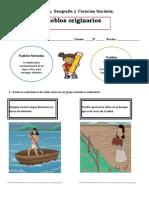 Guía 1 pueblos originarios 2° basico