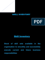 Competency Mapping & Skill Inventory