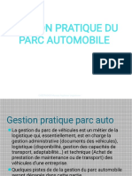 GESTION PARC AUTO
