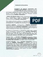 ANDRETRANSAÇÃO EXTRAJUDICIAL.À VISTA.PCG