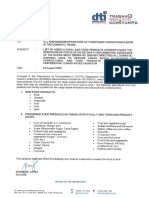 Department of Trade and Industry Advisory No. 20-02