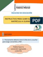 INSTRUCTIVO (VOUCHER A SUMWEB)