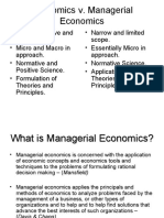 Nature and Scope of Managerial Economics