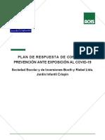 PLAN DE RESPUESTA DE CONmmmmROL Y PREVENCIÓN DE CRISPÍN ANTE COVID-19