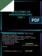 REACCIONES DE HIPERSENSIBILIDAD