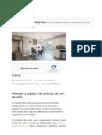 6 dicas para planejar o espaço da sua casa - Organização dos Cômodos.pdf