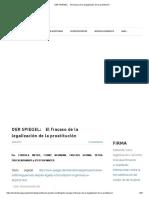 Cordula Meyer, Conny Neumann, Fidelius Schmid, Petra Truckendanner Y Steffen Winter (2017) -El fracaso de la legalización de la prostitución