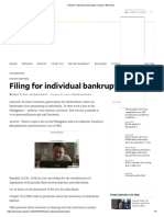 Filing for individual bankruptcy _ Inquirer Business