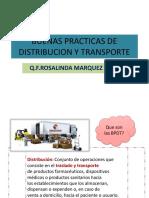 BUENAS PRACTICAS DE DISTRIBUCION Y TRANSPORTE