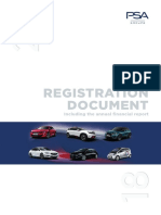 Groupe PSA Registration Document 2018