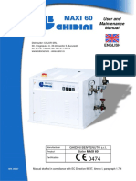 Maxi - 60 Tehnical Data