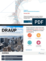 Media and Entertainment Industry Analysis - Draup