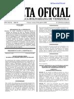 G.O.E.Nº6.554_10-JUL-2020_ESTADO DE ALARMA