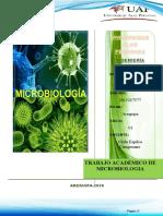 TRABAJO ACADEMICO MICROBIOLOGIA