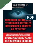 EBOOK Jacques Leger - Missions methodes techniques speciales des services secrets.pdf