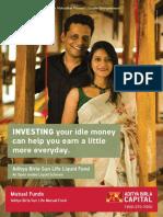 ABSL Liquid Fund Leaflet
