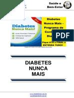 Diabetes Nunca Mais