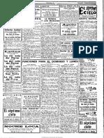 Heraldo de Madrid. 26-11-1927 - Estreno de Antaño