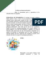 Induccion pedagogia paricipativa