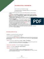 Fisiologia fetal e neonatal