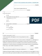 CC Teste de avaliação nº1- ensino à distância