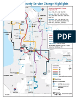 South King County Service Change Highlights