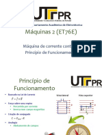2.1 - Máquinas CC - Funcionamento e aspectos construtivos