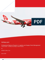 AirAsia-supply chain and analysis