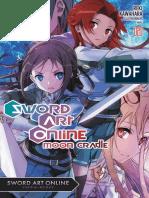 Sword Art Online 20_ Moon Cradle, V20