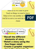 ELEMENTS of Story Short