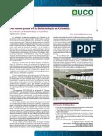 Una visión global de la Biotecnologia en Colombia
