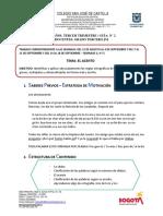 GUÍA N°2- ESPAÑOL- EL ACENTO-3º J.M