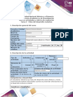 Guía de actividades y rúbrica de evaluación - Tarea 2 - Hitos del desarrollo evolutivo.docx