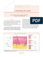 anatomy and physiology of the skin.en.es