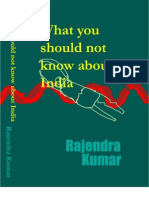 What You Should Not Know About India