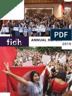 FIDH Annual Report 2019