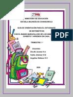 Guía de Matemáticas para primer grado