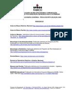 Leituras Seleção PPGMUSPA 2020 - UFRGS