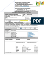 ANEXO 12 Estructura de Informe de cumplimiento CSC estudiantes